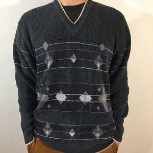 Outrage v neck sweater